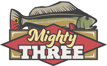 Mighty Three. Blue Crab Island, Mississippi